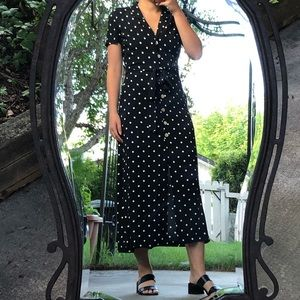 Wilfred polka dot shirt dress
